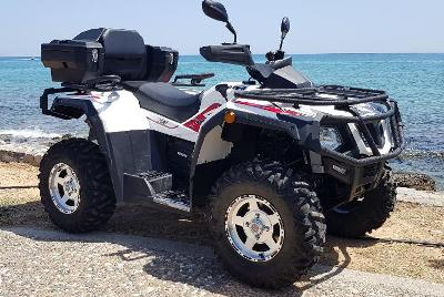 quad 200cc zakynthos rent